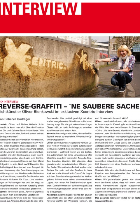 Xcentric-Interview - Reverse Graffiti